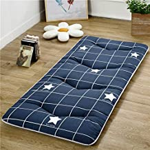 Futon Mattress,Student Dormitory mattresses Tatami Floor mat [Japanese-Style] Collapsible Portable Nap mat-C 90x200cm(35x7...