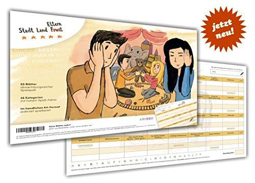 arheko Stadt Land Eltern -für Eltern und Familien- 55 Seiten Buch-Block - 26 Kategorien im DIN A4 Format Geburt des Babys