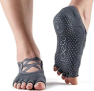 Toesox, Half Toe Elle calcetines con agarre para Yoga y Pilates Unisex adulto