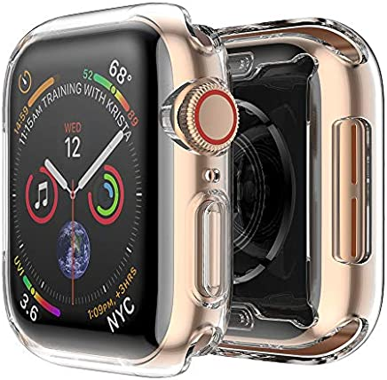 FINTIE Custodia per Apple Watch Series 4 - [2 Pezzi] Ultra Sottile Custodia Rigida Protettiva Case Cover (40mm)