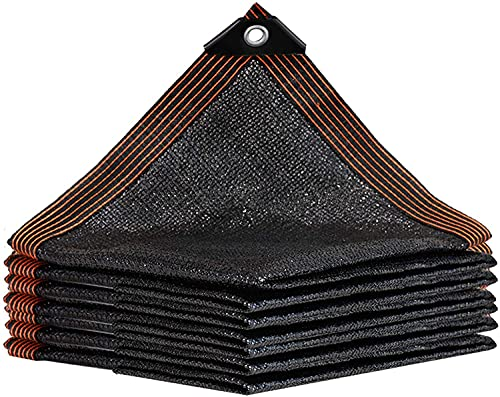 WYNDCM Red de sombreado al Aire Libre, tasa de sombreado 50% -60%, Cubierta Protectora UV, jardín/Planta/Invernadero/Granero/Exterior/Patio/Techo,4 * 5m