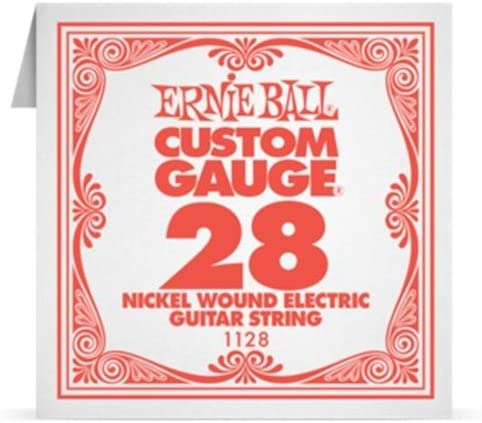 Ernie Ball Electric Guitar Strings EB WOUND Max 60% OFF gift NICKEL 1128 .028 SI