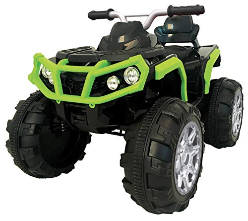 kidfun Quad Elettrico 12V Moto Outlander Verde