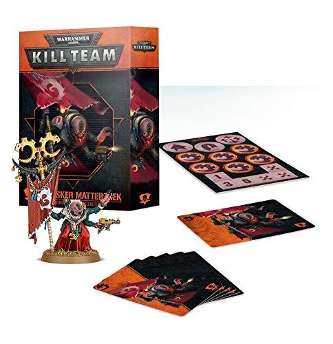 Warhammer 40.000 Kill Team: Crasker Matterzhek Kommandeur-Set der Genestealer Cults