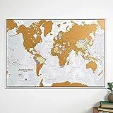 Zoom IMG-2 mappa del mondo da grattare
