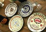 Creative Tops Gourmet Cheese 4er-SetKeramik-Beilagenteller, 19,1 cm (7½)