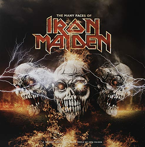 The Many Faces Of Iron Maiden - 2lp Red Vinyl [Vinilo]