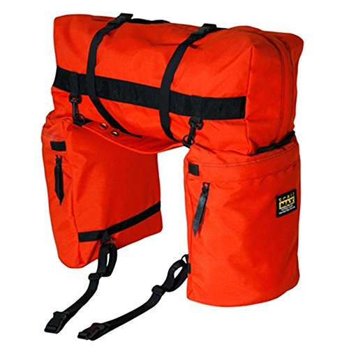 TrailMax Original Saddlebags - Bisacce e borsone portabagagli posteriori per sella - Arancione