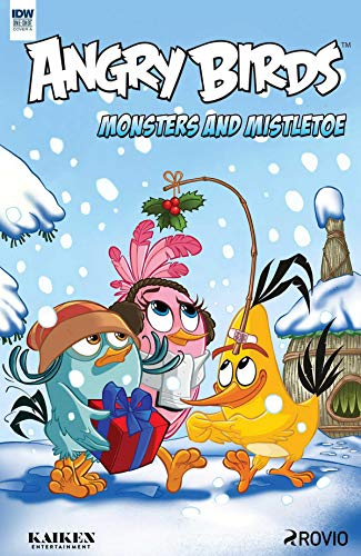 Angry Birds Monsters And Mistletoes: Angry birds Comics (English Edition)