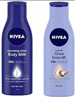 NIVEA Body Milk + Shea Butter) Deep Moisture Serum (150 ml)
