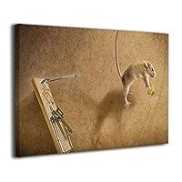 Skydoor J パネル ポスターフレーム 猫の創造力 インテリア アートフレーム 額 モダン 壁掛けポスタ アート 壁アート 壁掛け絵画 装飾画 かべ飾り 30×20