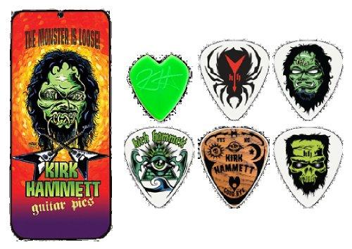 PUAS ESTUCHE - Dunlop (KH.01T) Kirk Hammet (Metallica pick tin) Calibre 0,88