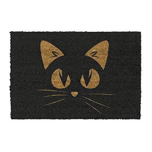 DCASA DCASA Antideslizante Cara Gato Referencia DC Felpudos Textiles del hogar Unisex Adulto, Color, 40x70x1,5