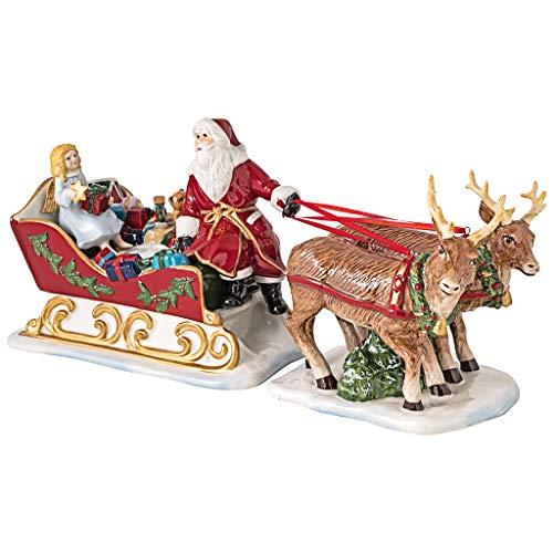 Villeroy & Boch 2 x Schlitten Nostalgie Christmas Toys Vorteilsset 2 x Art. Nr. 1483276644 und Gratis 1 Trinitae Körperpflegeprodukt
