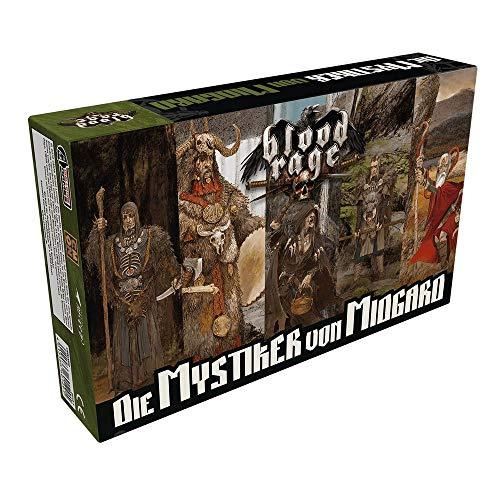 Asmodee CMN0002 Blood Rage-Die Mystiker von Midgard Erweiterung, Mehrfarbig