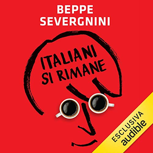 Italiani si rimane audiobook cover art