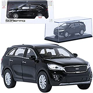 TreForze 1:38 KIA ALL NEW SORENTO Black Display Mini Car Miniature Car