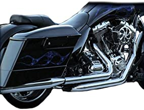 RC Components RCX302SC + TRIKE Chrome True Dual Head Pipes with Ceramic Coating for 2009-2016 Harley Tri-Glide Models