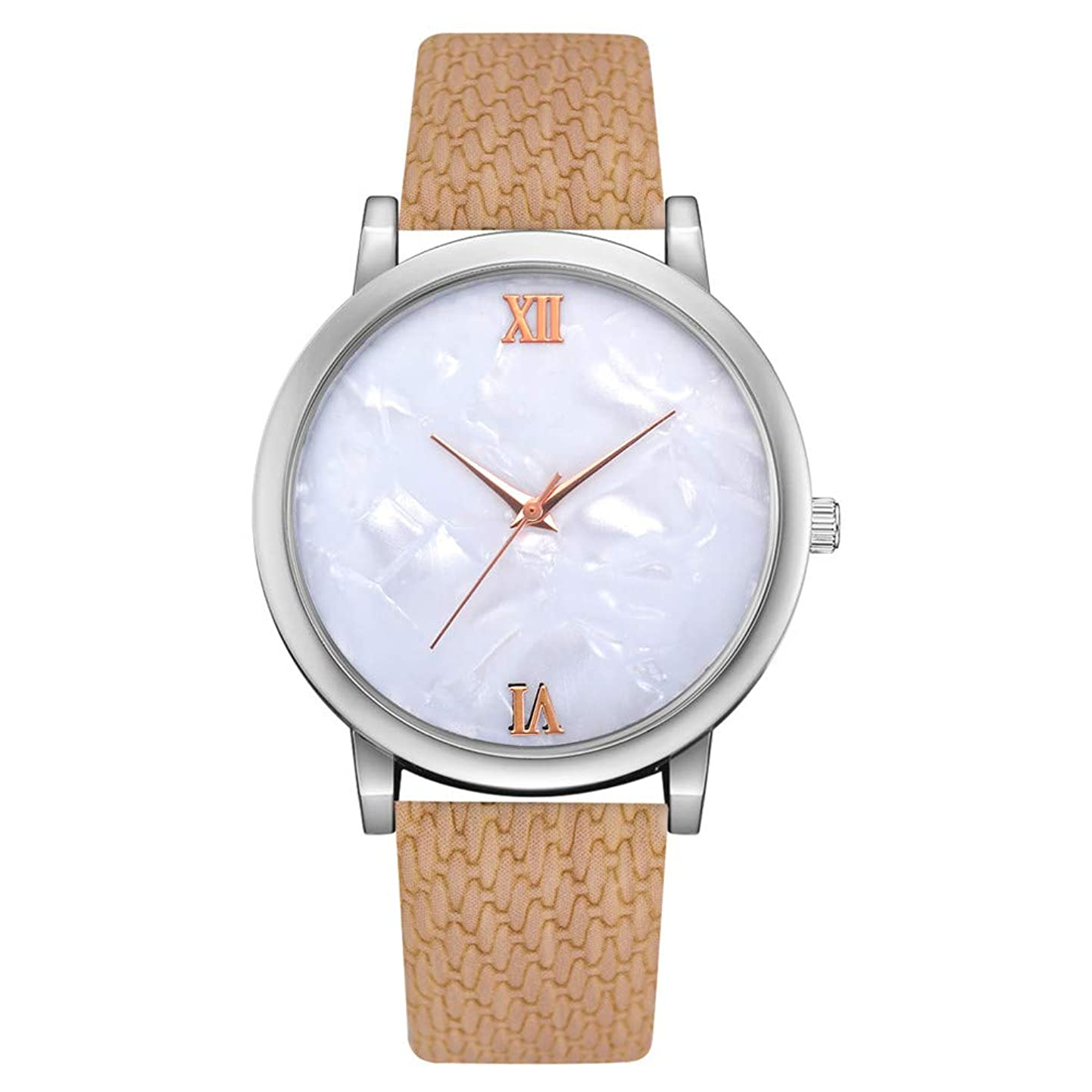 Larmly Women's Casual Quartz Mesh Belt Watch Analog Wrist Watch Jade Dial Unique Alloy creonswqujj7