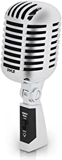 Classic Retro Dynamic Vocal Microphone – Old Vintage Style Unidirectional Cardioid..