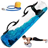 POIUYT Aqua Bag Regolabile e Power Bag con Acqua Sandbag Alternative Aqua Bag 55 libbre Power Bag per Una Maggiore Stabilità ed Equilibrio per Allenamento di Forza Indoor