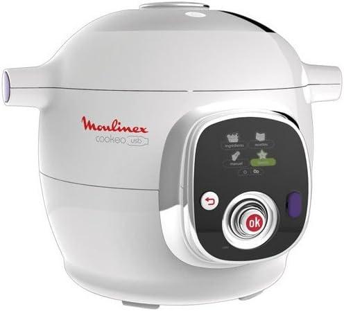 Moulinex CE702100 - Maquina para cocinar al vacío, 6 L, 1200 W, color blanco: Amazon.es: Hogar