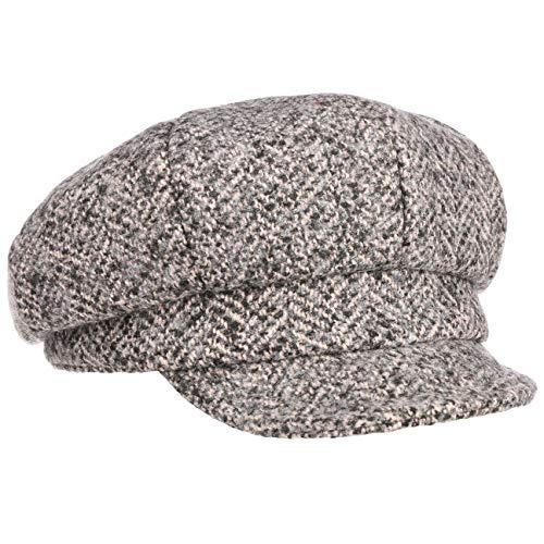 Lipodo Malona Newsboy Pet Dames - cap muts met klep baker boy voering voor Herfst/Winter