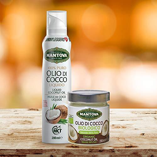 Olio di Cocco Spray 200 ml + Olio di Cocco Biologico 200 ml