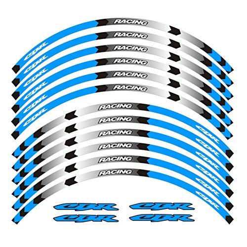 Pegatina de la Rueda de la Motocicleta calcomanía de la Bicicleta Reflectante de la llanta de la calcomanía Adecuada para Honda CBR RR CBR CBR1000 600RR 650R 300R