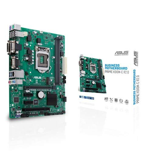 Asus Prime H310M-C R2.0 Mainboard, Gigabit-LAN, Sound, m.2, SATA3, USB 3.0