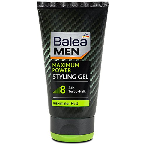 Balea Men Maximum Power Styling Gel, 2er Pack(2 x 150 ml)