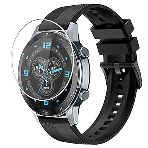 Vaxson 3 Unidades Protector de Pantalla, compatible con ZTE Watch GT [No Vidrio Templado] TPU Película Protectora Reloj Inteligente Film Guard Updated Version