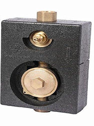 Schlösser Wasserzähler Montageblock Mono 3/4