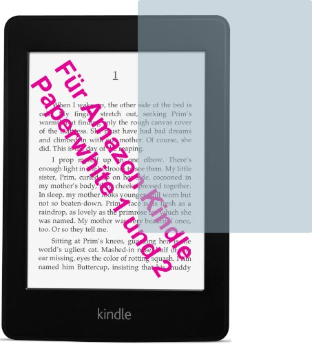 4ProTec I 4X Amazon Kindle Paperwhite 2 (2013) ENTSPIEGELNDE Displayschutzfolie Bildschirmschutzfolie von - Nahezu blendfreie Antireflexfolie