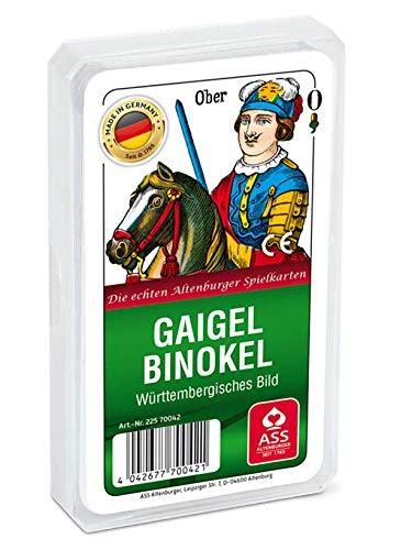 Kartenspiele, Gaigel/Binokel der ASS Altenburger Spielkartenfabrik