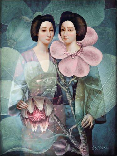 Posterlounge Cuadro de PVC 120 x 160 cm: Sakamoto San de Catrin Welz-Stein