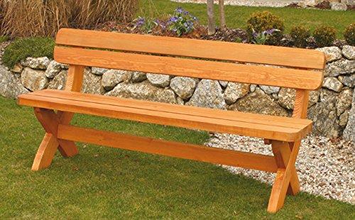 Design Holzgarnitur Holz Sitzgruppe Rainbach edel und stabil - 4