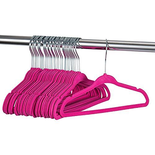 30 pièces pantalons cintres cintre rockbügel avec caoutchouc anti hosensteg antidérapant