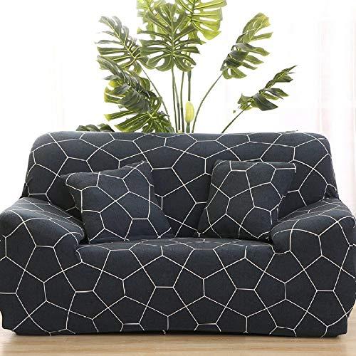 HXTSWGS Stretch Sofabezug,Elastic Sofa Cover, Furniture Protector, Home Decoration, Detachable, Soft-Color 29_190-230cm