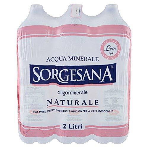 Sorgesana Acqua Naturale 2L (Pacco da 6)