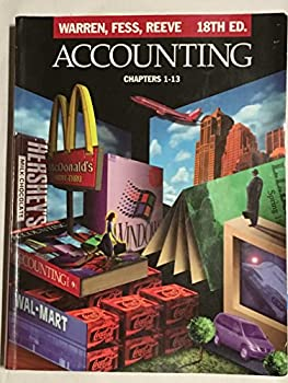 Hardcover Accounting : Chapters 1-13 Book