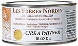 Les Frères Nordin 413908 Cire à Patiner Blonde,