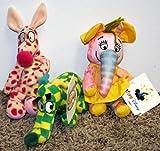 Disney Woozle #2, Woozle #3 and Heffalump #4 Set