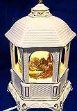 Thomas Kinkade 2005'Make A Wish Cottage' Lamp and Music Box