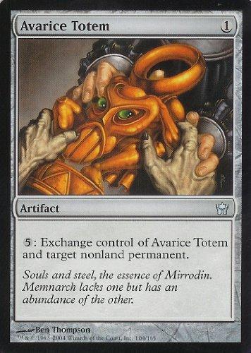 Magic: the Gathering - Avarice Totem - Fifth Dawn