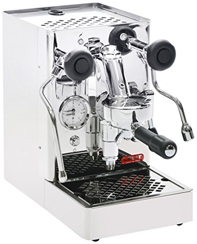 Lelit PL62S Mara, Máquina de Espresso Profesional-Grupo E61-Pomos Negras Satinadas-Ideal para el Expreso y el Capuchino, 1400 W, 1 Cups, Stainless Steel, plateado