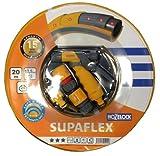 Hozelock Tricoflex 00190265 Supaflex 0.5 Zoll, 20 m Rolle mit Armaturen