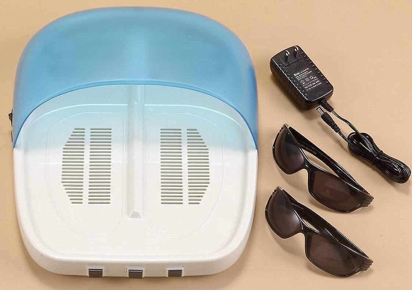 奇妙な差別する経済的【紫外線治療器 NEW UVフットケア 水虫治療器 両足】 NEW UVフットケア 家庭用紫外線治療器 CUV-5(B482)