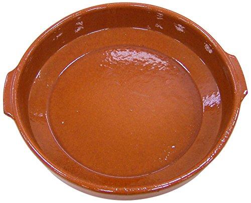 Fackelmann Cazuela Clásica, Barro, Caramelo, Ø32cm