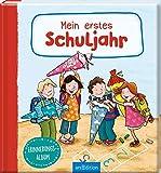 Mein erstes Schuljahr: Erinnerungsalbum | Eintragbuch Geschenk Schulanfang, Einschulung, für Kinder ab 5 Jahren